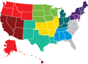 Foodservice Regions