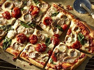 Wicked Good Sliced Italian Sausage Pizza