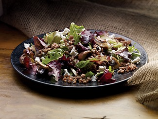 Beef & Goat Cheese Salad