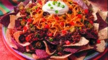 Nachos Sabrosos con Chorizo
