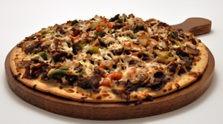 Spicy Orange Beef Pizza
