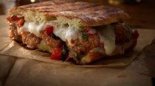 Meatball & Bruschetta Grilled Cheese