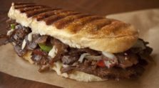 Pressed Korean Philly Cheesesteak
