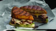 Turkey Beef Swiss Panini
