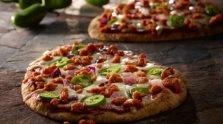 Fiery Sriracha Pizza