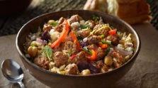 Mediterranean Chicken & Rice Bowl