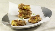 Corn and Sausage Fritters