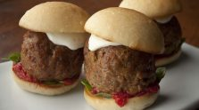 Caprese Meatball Sliders