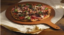 Meaty Whole Wheat Pizza