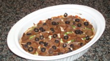 Layered Beef Pizza Dip