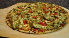 Pollo Alla Pesto Pizza (Chicken & Pesto Pizza)