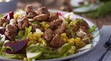 Roasted Beet, Sweet Sausage & Fennel Salad