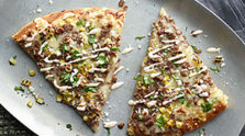 New Mexico Beef Pizza