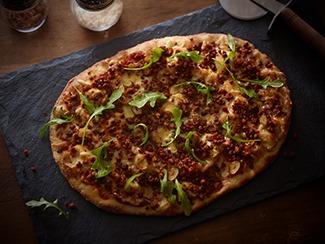 Arugula & Chorizo Pizza