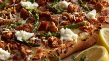 Sausage & Lemon Ricotta Pizza