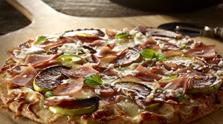 Honey Apple & Canadian Bacon Pizza