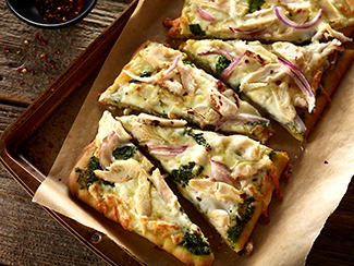 White Chicken & Pesto Pizza