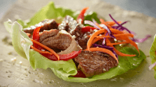 Mouthwatering Asian Beef Lettuce Wraps
