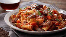 Beef Pappardelle