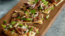 Spicy Asian Beef Pizza