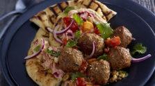 Mediterranean Meatball Plate