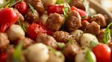 Italian Sausage & Sweety Drop Salad
