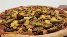 Smoky BBQ Beef Pizza