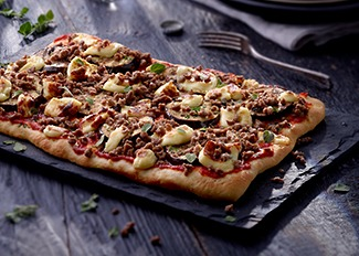 Moroccan Beef Pizza