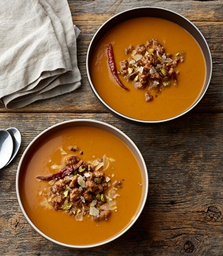 Butternut Squash Curried Soup