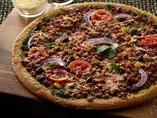 Black Bean Chimichurri Pizza