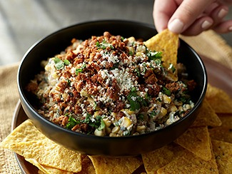 Mexican-Style Beef Elote Dip