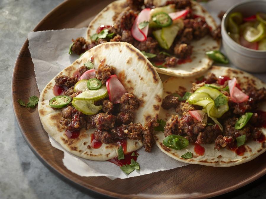 Plant-Based Korean Street Tacos