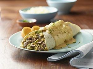 Plant-Based Breakfast Enchiladas