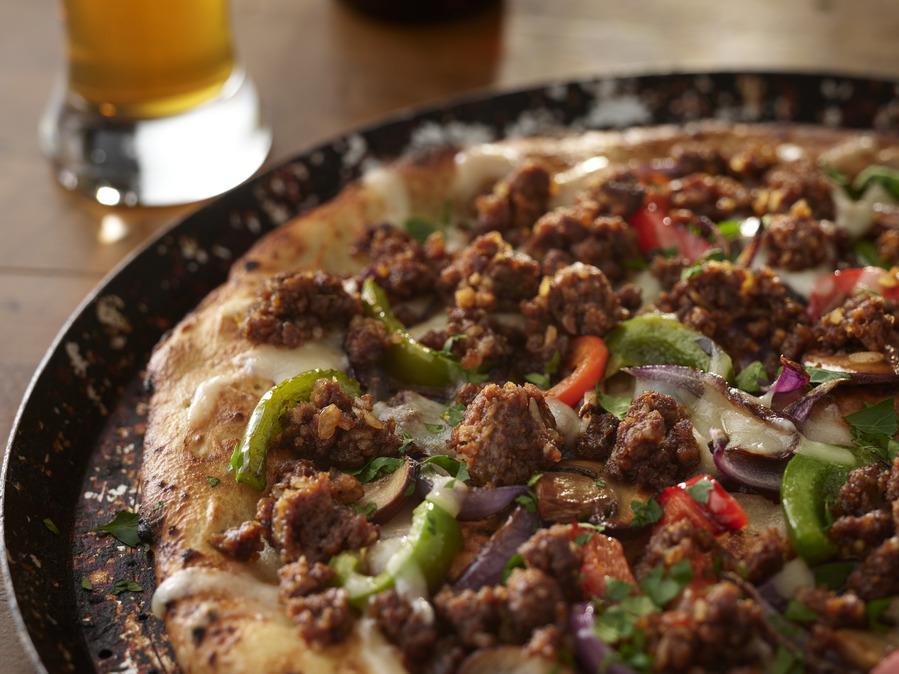 Garlic Infused Veggie Pizza