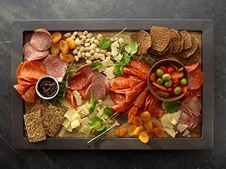 Pepperoni & Salami Charcuterie Board