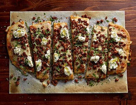 Pepperoni & Ricotta Flatbread